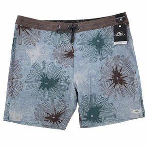 O'Neill Hyperfreak Kelso Floral Board Shorts 40